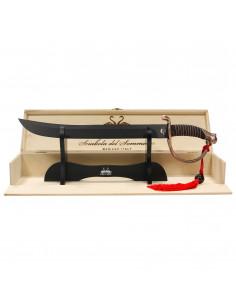 Personalised Sommelier Saber| Black Blade | oohwine.com