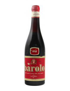 BAROLO LOW LEVEL 1958 VILLADORIA Grandi Bottiglie