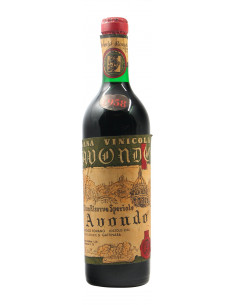 Vino Speciale Riserva 1958 CASA VINICOLA AVONDO GRANDI BOTTIGLIE