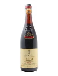 BAROLO 1977 BERSANO Grandi Bottiglie