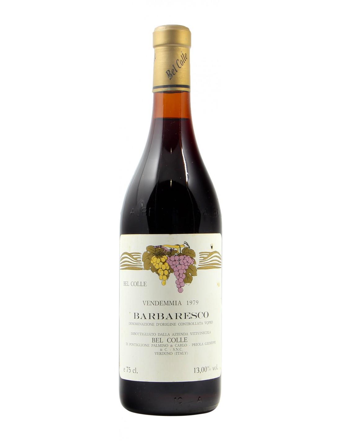 BARBARESCO 1979 BEL COLLE Grandi Bottiglie