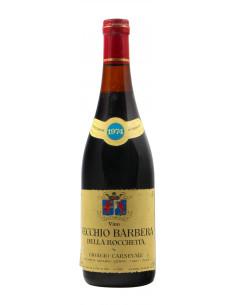 VECCHIO BARBERA DELLA ROCCHETTA 1964 GIORGIO CARNEVALE Grandi Bottiglie