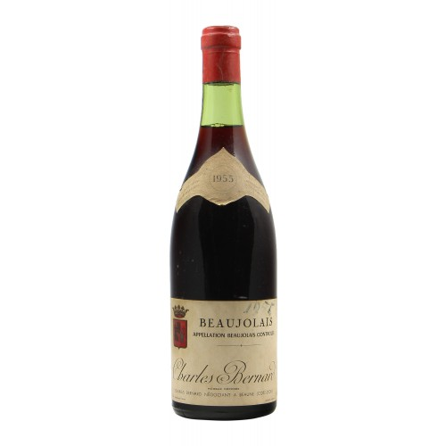 Beaujolais 1955 CHARLES BERNARD GRANDI BOTTIGLIE