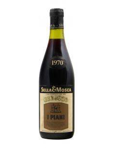 I PIANI 1970 SELLA & MOSCA Grandi Bottiglie