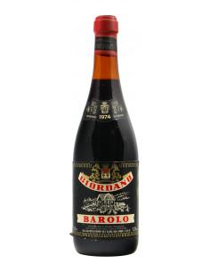 BAROLO 1974 GIORDANO Grandi Bottiglie