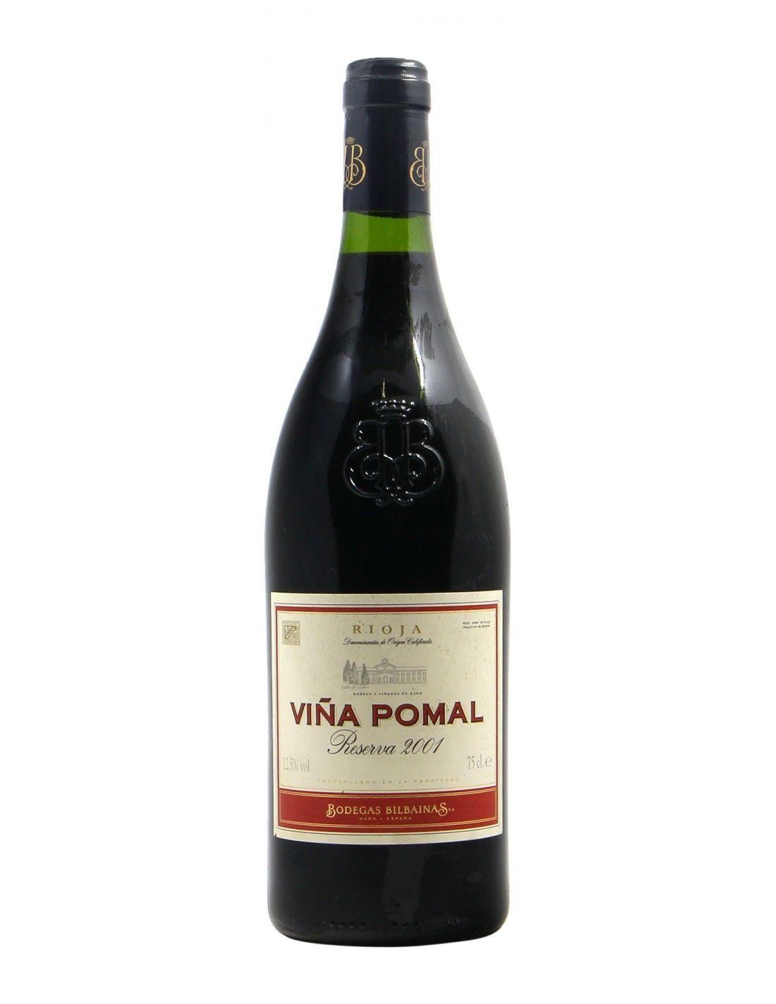 Vina Pomal Riserva 2001 BODEGAS BILBAINAS GRANDI BOTTIGLIE