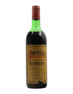 Barbera 1974 CA' ROSSA GRANDI BOTTIGLIE