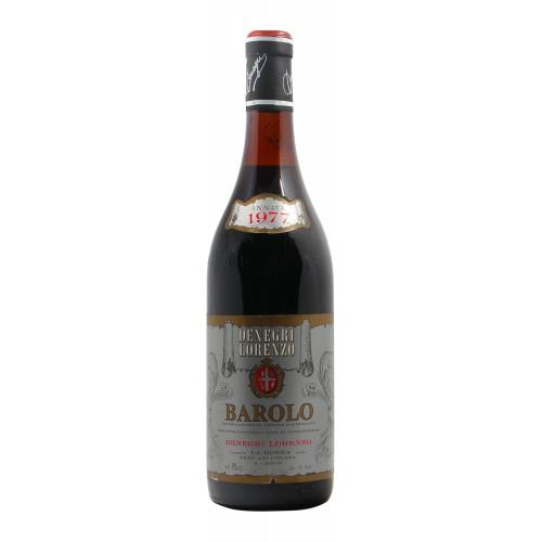 BAROLO 1977 DENEGRI LORENZO Grandi Bottiglie
