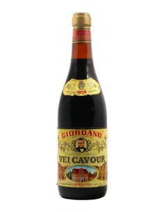 VEI CAVOUR 1978 GIORDANO Grandi Bottiglie