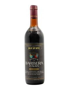 BARBERA D'ALBA 1976 AZIENDA VITIVINICOLA RIZZI Grandi Bottiglie
