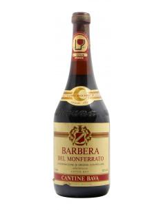 BARBERA DEL MONFERRATO 1984 BAVA Grandi Bottiglie