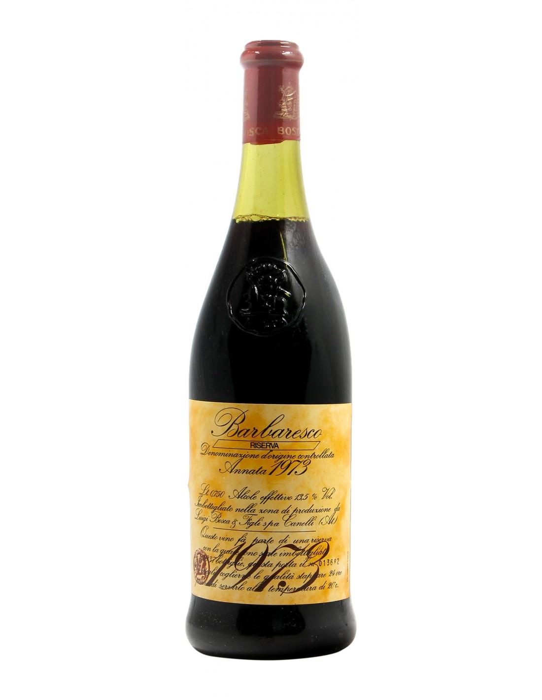BARBARESCO RISERVA 1973 LUIGI BOSCA Grandi Bottiglie
