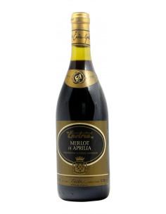 MERLOT DI APRILIA 1985 CANTINA ENOTRIA Grandi Bottiglie