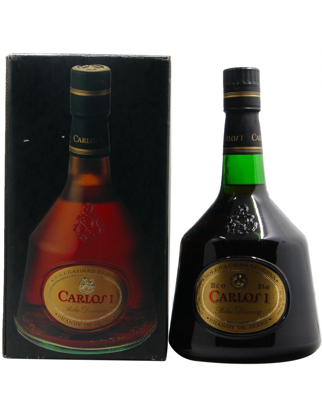 BRANDY DE JEREZ CARLOS I SOLERA GRAN RESERVA 1L NV PEDRO DOMECQ Grandi Bottiglie