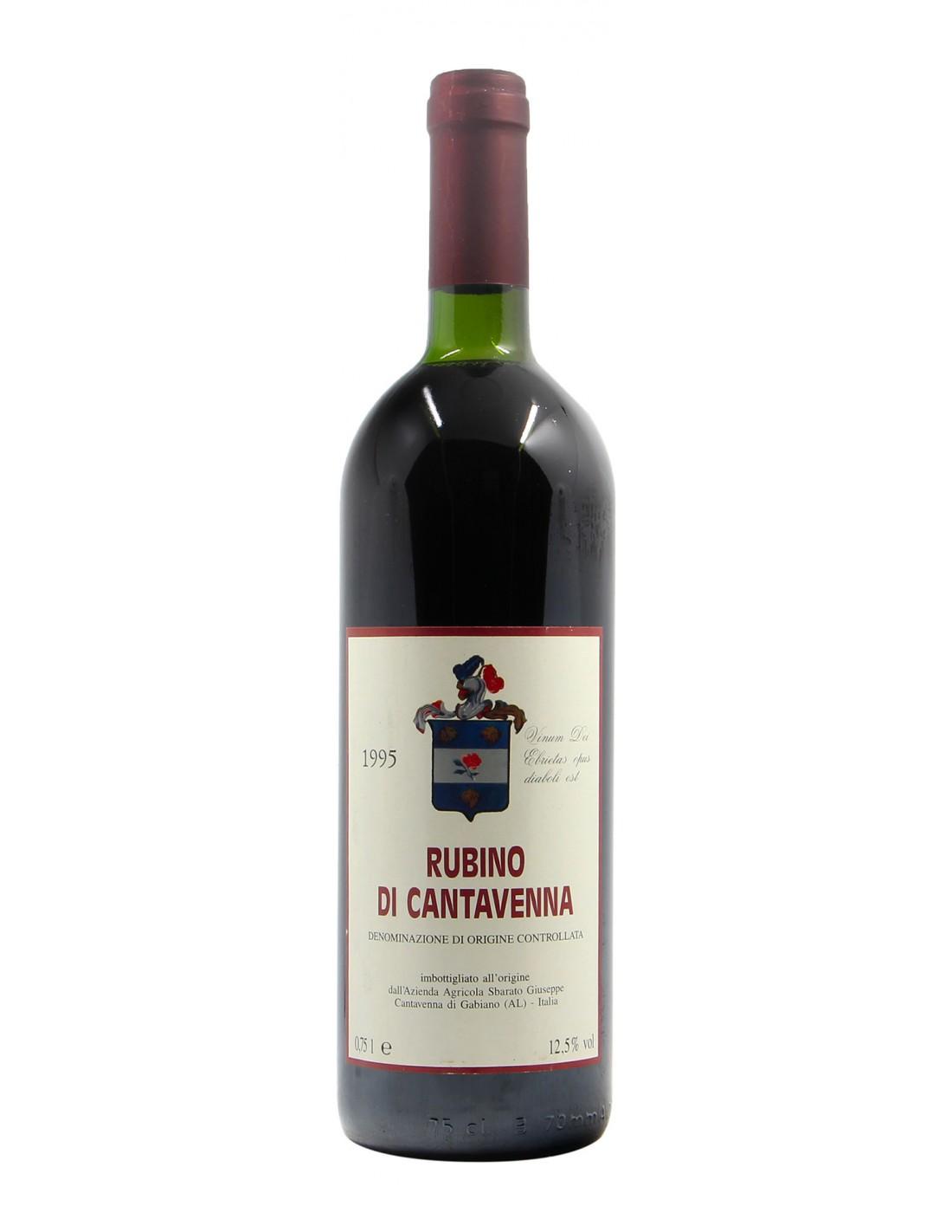 RUBINO DI CANTAVENNA 1995 SBARATO GIUSEPPE Grandi Bottiglie