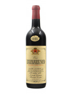 BARBARESCO 1965 CERETTO Grandi Bottiglie