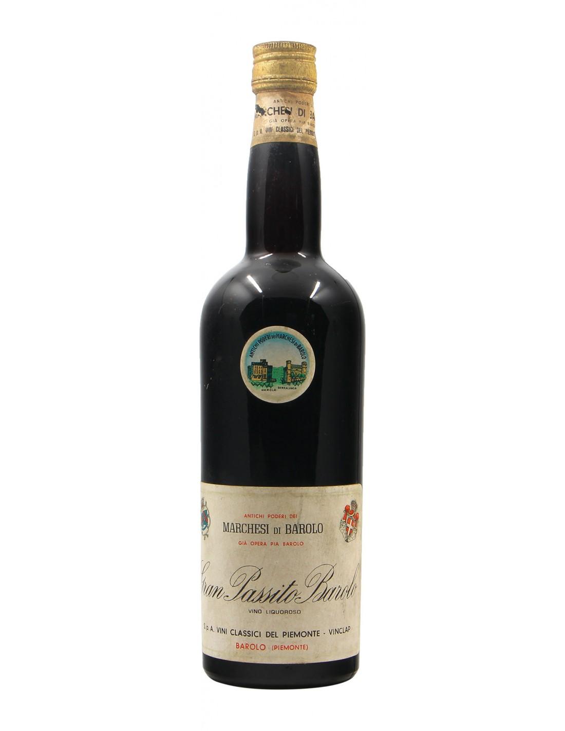 GRAN PASSITO BAROLO VINO LIQUOROSO NV MARCHESI DI BAROLO Grandi Bottiglie