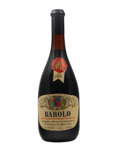 Barolo 1974 GALEASSO GRANDI BOTTIGLIE
