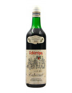 CABERNET 1968 SCHIRRIPA GRANDI BOTTIGLIE