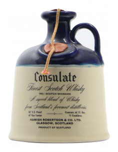 CONSULATE FINEST SCOTCH WHISKY 21 YEARS OLD 75CL NV ROBERTSON'S Grandi Bottiglie