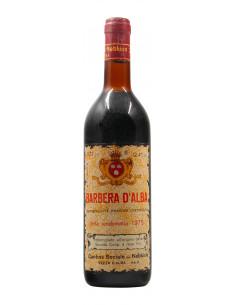 BARBERA D'ALBA 1975 CANTINA SOCIALE DEL NEBBIOLO Grandi Bottiglie