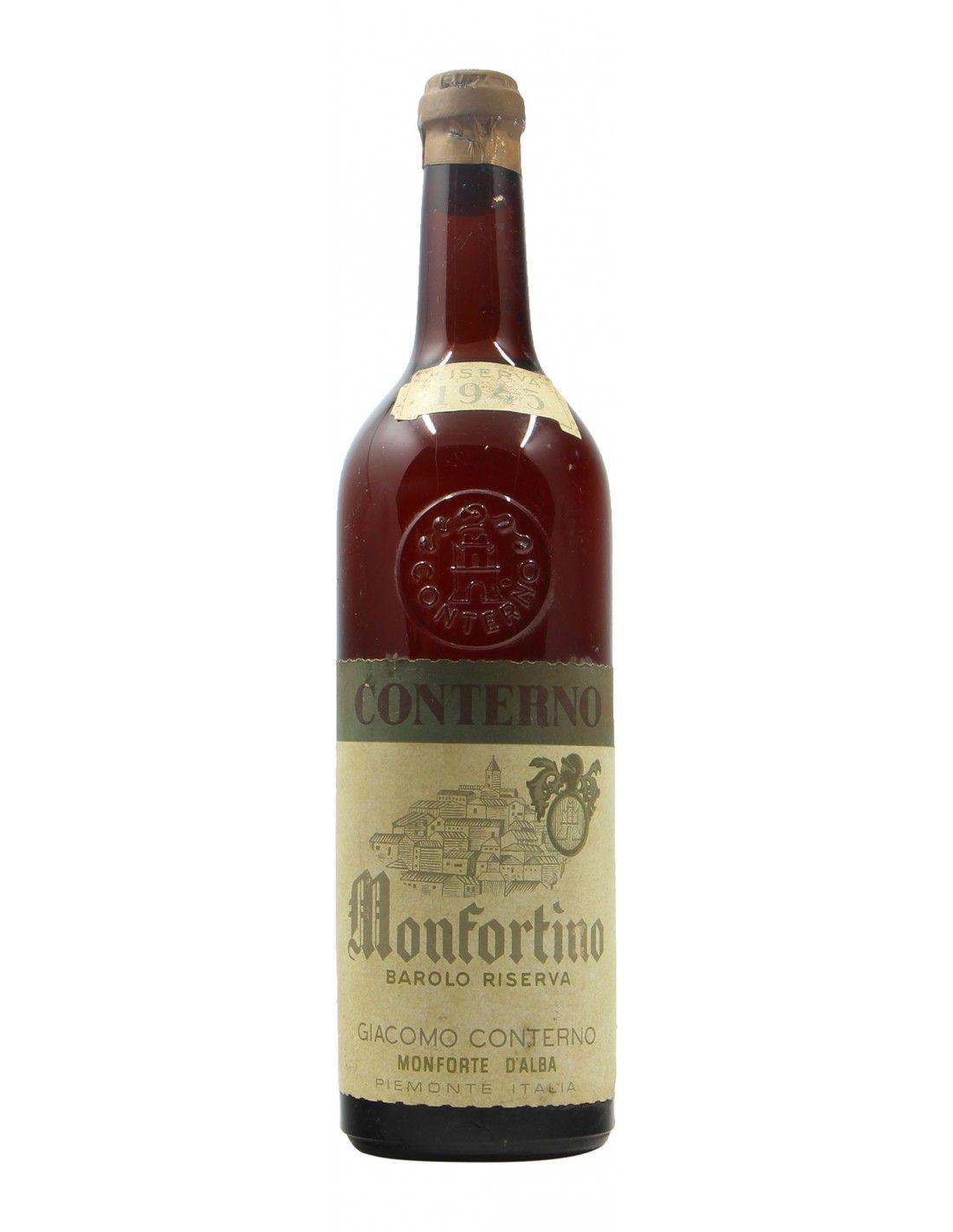 BAROLO MONFORTINO CLEAR COLOUR 1945 GIACOMO CONTERNO Grandi Bottiglie