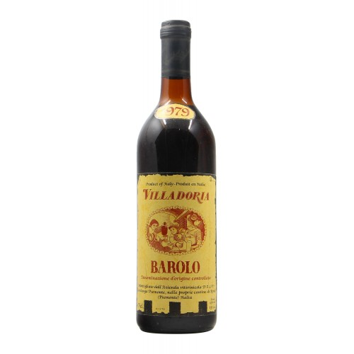BAROLO 1979 VILLADORIA Grandi Bottiglie