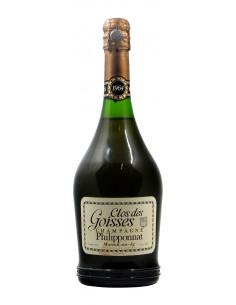 CHAMPAGNE CLOS DES GOISSES 1964 PHILIPPONNAT GRANDI BOTTIGLIE