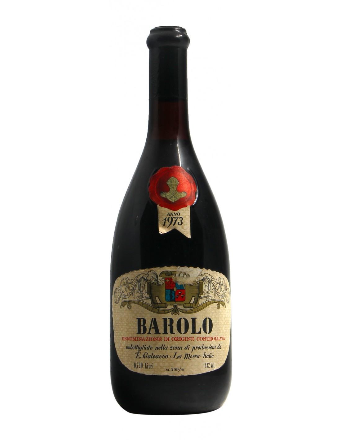 BAROLO 1973 GALEASSO GRANDI BOTTIGLIE