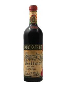 GATTINARA STRAVECCHIO 1957 CASA VINICOLA AVONDO Grandi Bottiglie