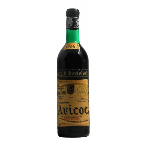 Chiaretto Aricot 1964 FRATELLI BERTELETTI GRANDI BOTTIGLIE