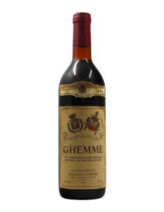 GHEMME 1972 CANTINA SOCIALE DI SIZZANO E GHEMME Grandi Bottiglie