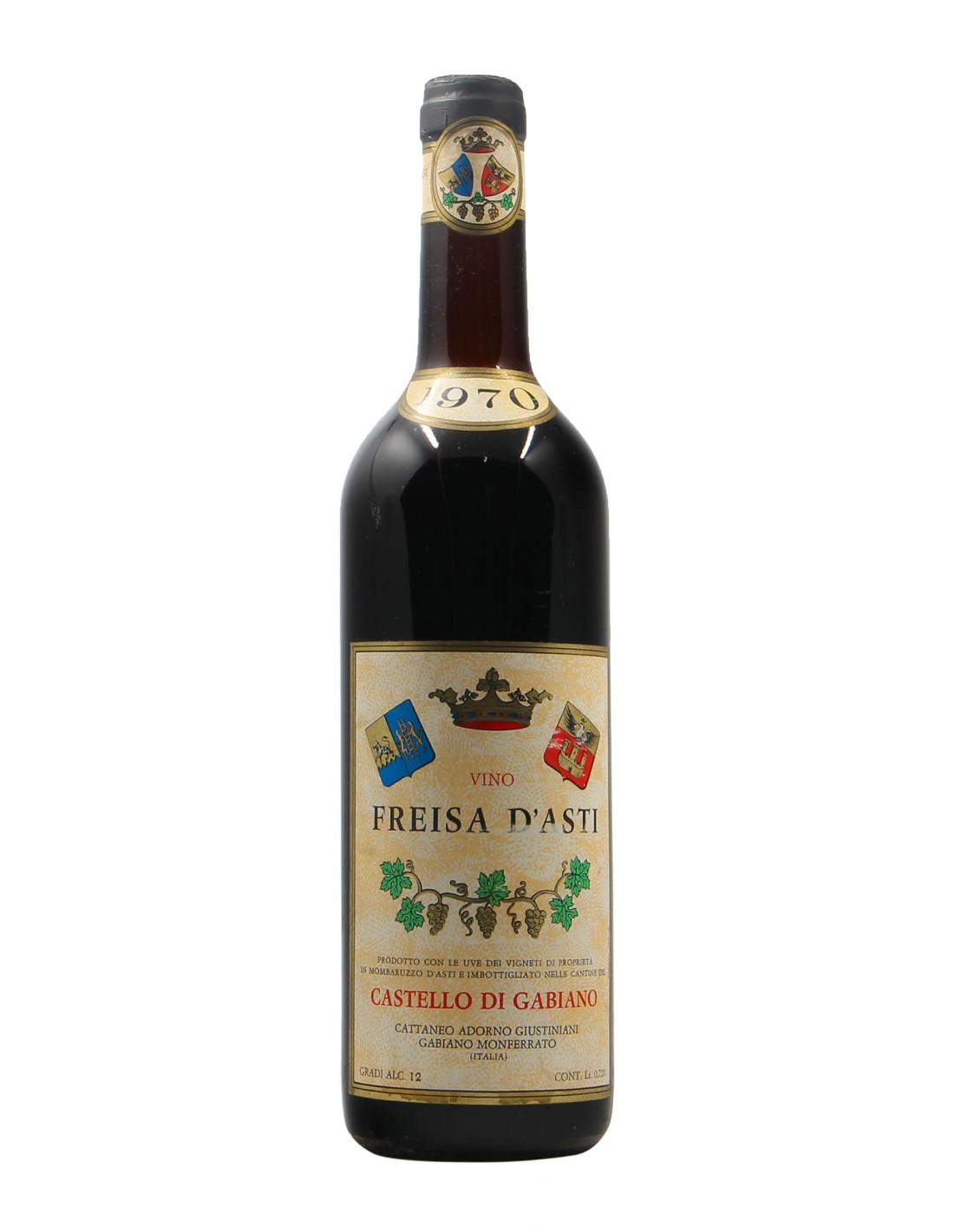 FREISA CASTELLO DI GABIANO 1970 GIUSTINIANI Grandi Bottiglie