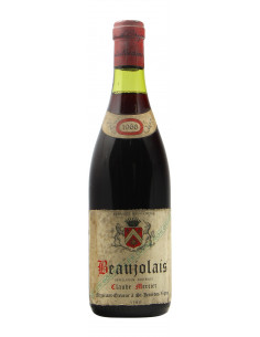 BEAUJOLAIS 1966 CLAUDE MERCIER Grandi Bottiglie