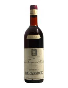 VINO DELLE BARAGGIOLE 1975 ROVELLOTTI Grandi Bottiglie