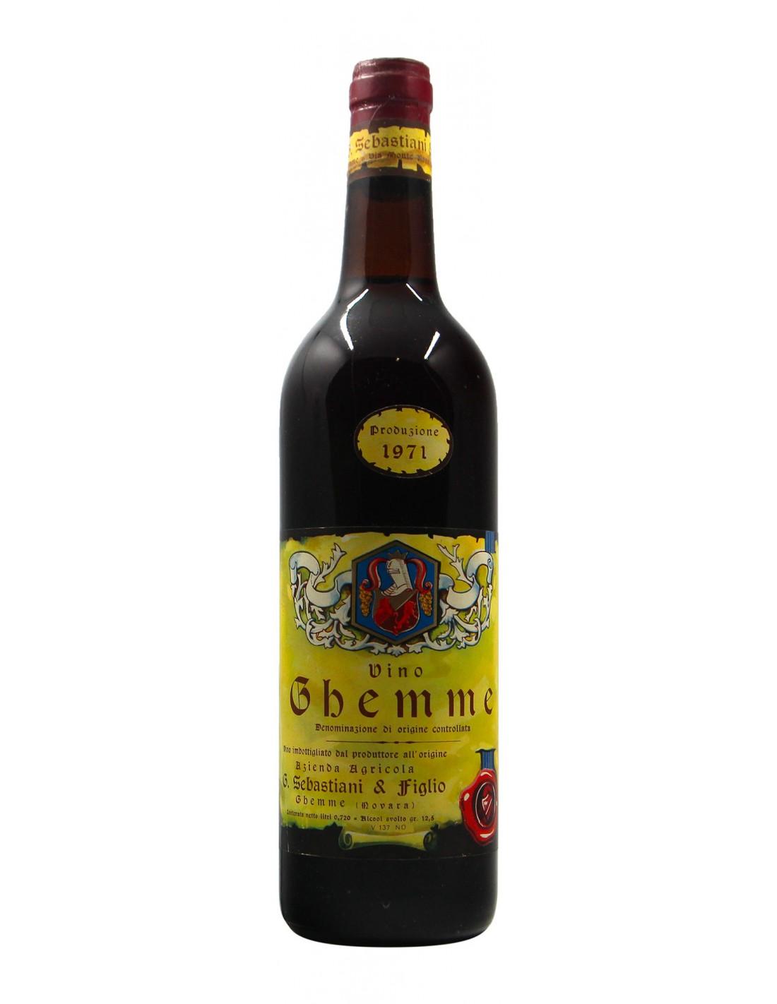 GHEMME 1971 G.SEBASTIANI Grandi Bottiglie