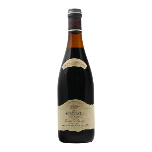 MERLOT DEL PIAVE 1964 SAN GIORGIO Grandi Bottiglie