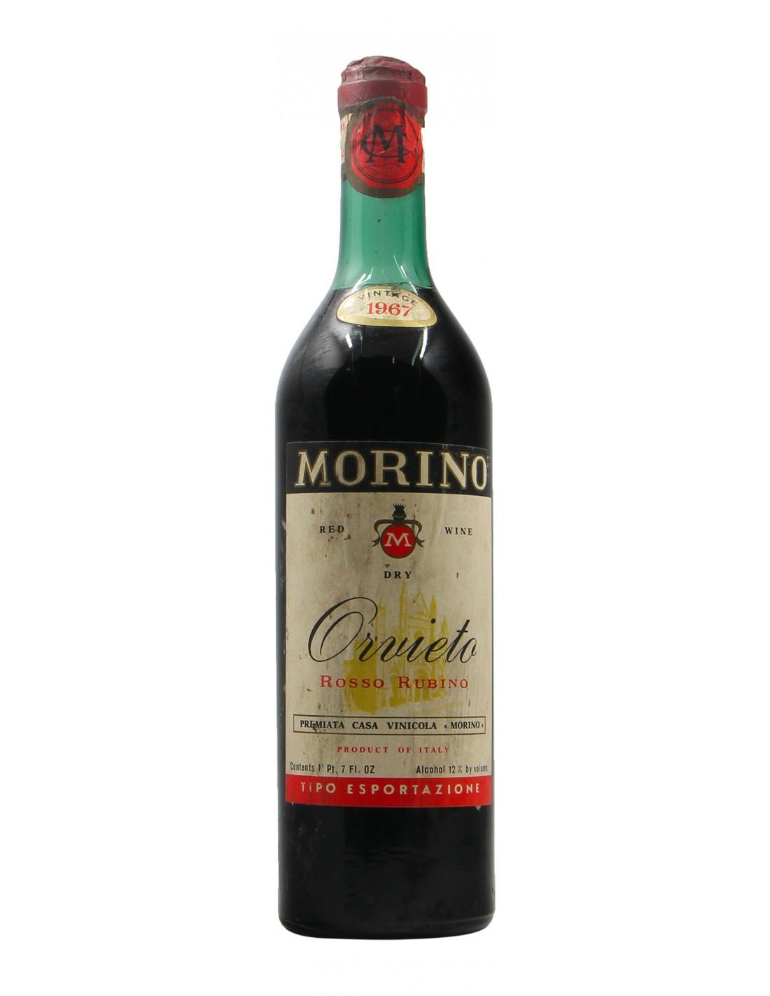 Orvieto Rosso 1967 MORINO GRANDI BOTTIGLIE
