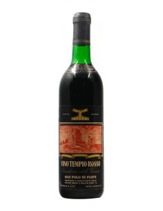 TEMPIO ROSSO 1966 CANTINE DEROA' Grandi Bottiglie
