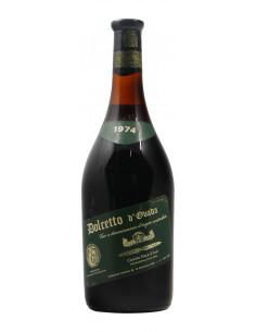 DOLCETTO D'OVADA 1974 DUCA D'ASTI Grandi Bottiglie
