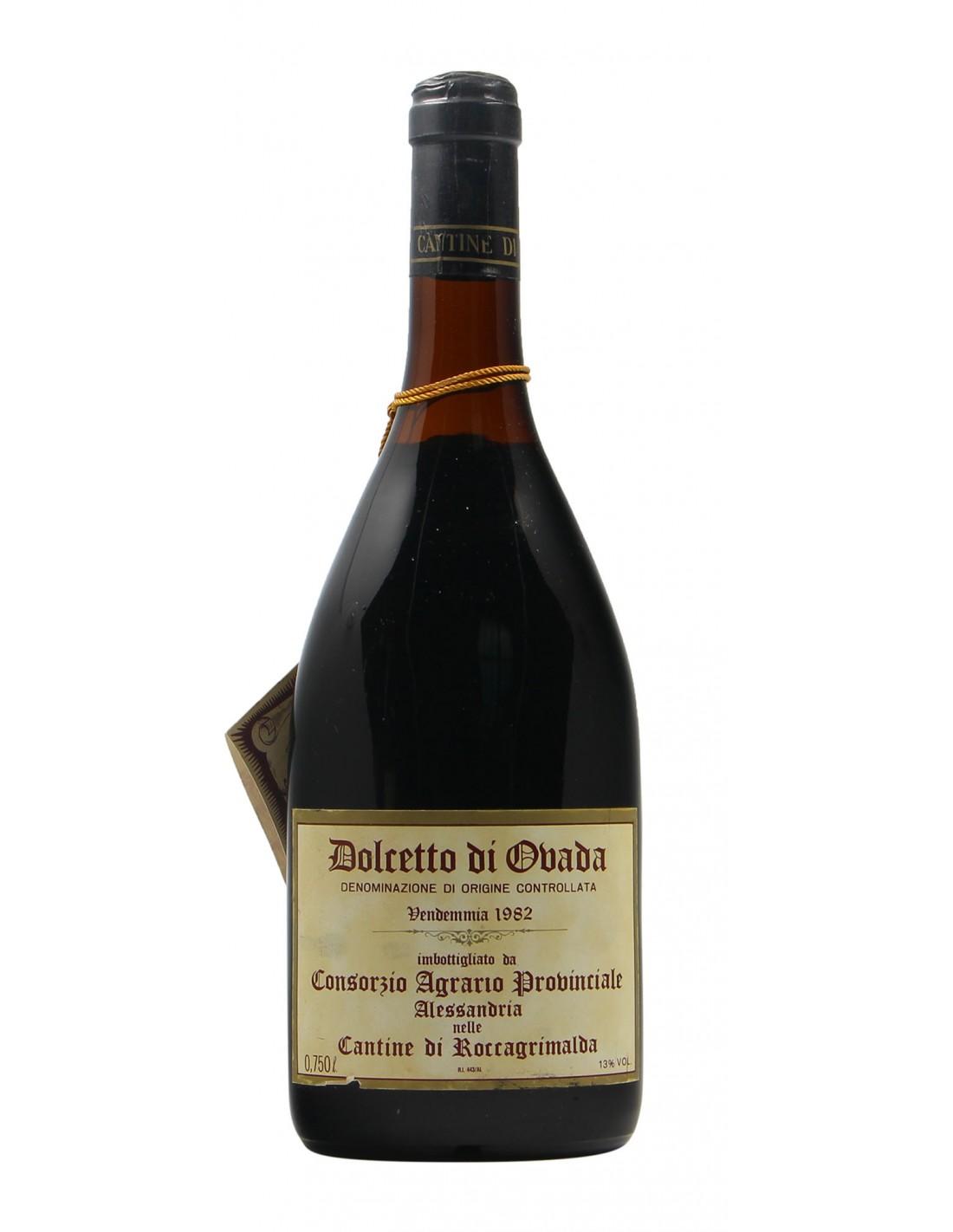 DOLCETTO D'OVADA 1982 ENOPOLIO DI ROCCAGRIMALDA Grandi Bottiglie