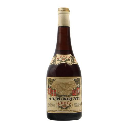 4 VICARIATI 1974 CAVIT Grandi Bottiglie