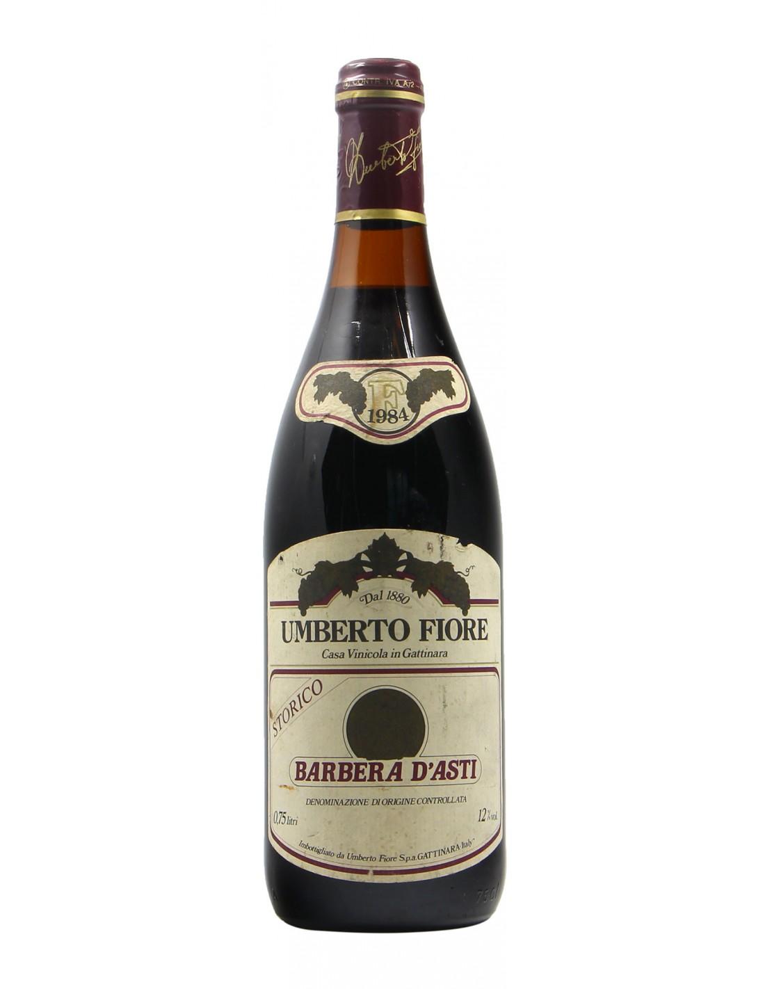 BARBERA D'ASTI 1984 UMBERTO FIORE Grandi Bottiglie