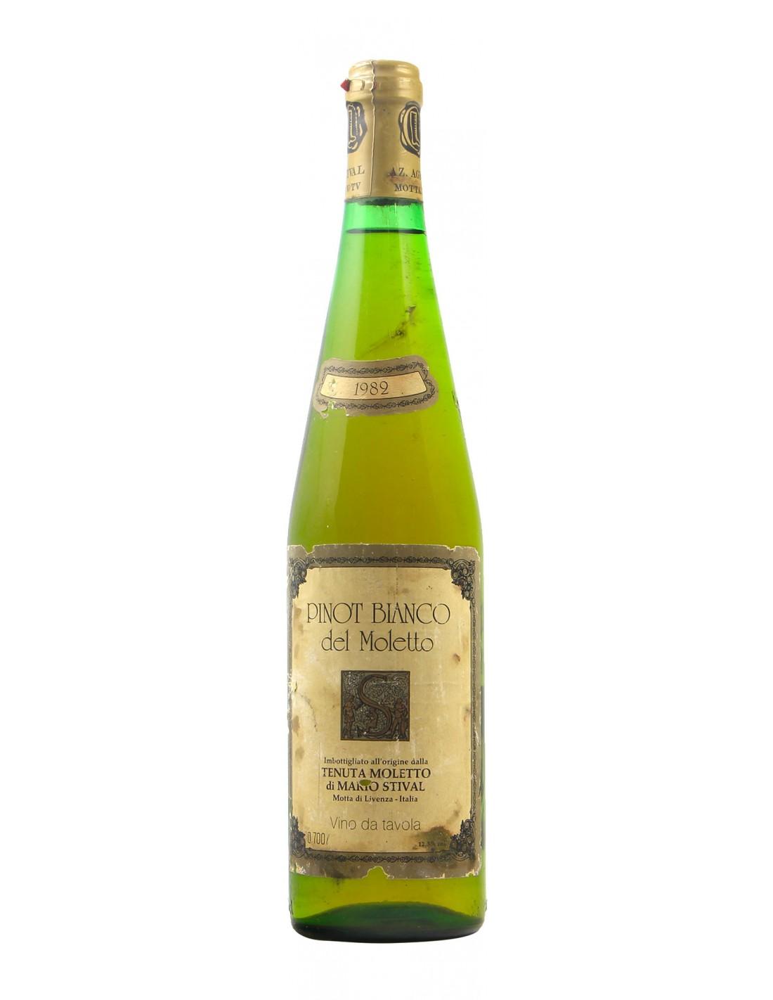 PINOT BIANCO 1982 TENUTA MOLETTO Grandi Bottiglie