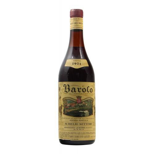 BAROLO 1971 AURELIO SETTIMO Grandi Bottiglie