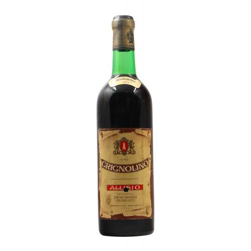 GRIGNOLINO 1971 ALLISIO Grandi Bottiglie