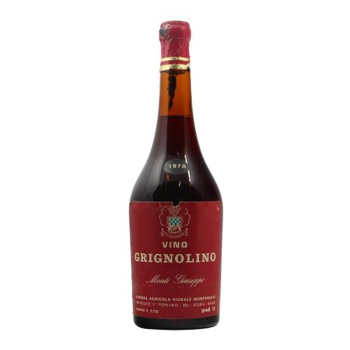 GRIGNOLINO MONTI GIUSEPPE 1970 AZIENDA AGRICOLA VIGNALE MONFERRATO Grandi Bottiglie