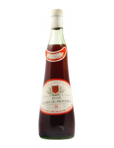 COTES DE PROVENCE ROSE 1971 LES CHAIS SAINT LOUIS Grandi Bottiglie