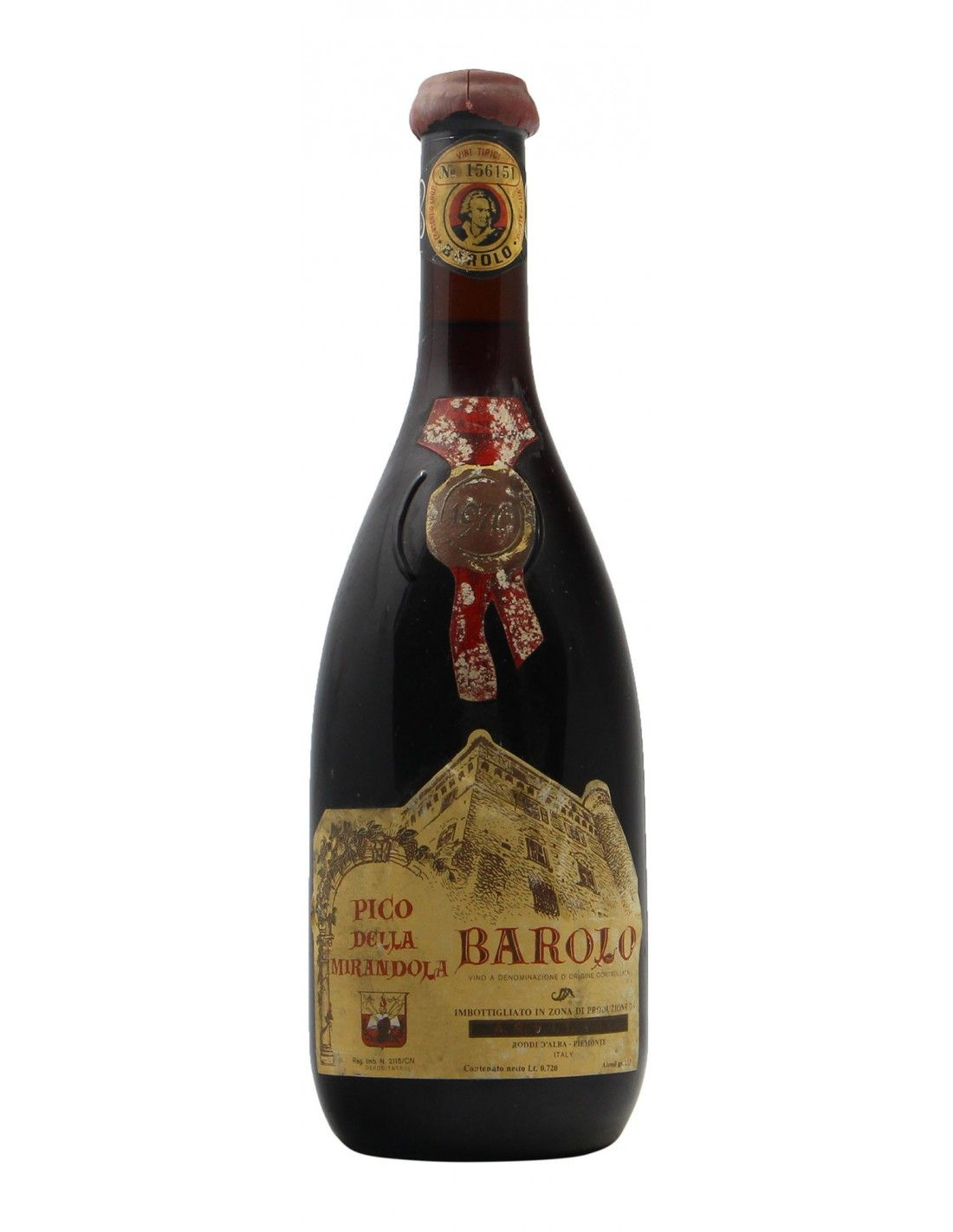 BARBARESCO 1976 PICO DELLA MIRANDOLA Grandi Bottiglie