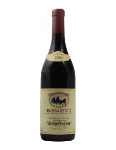 BARBARESCO 1986 VECCHIO PIEMONTE Grandi Bottiglie